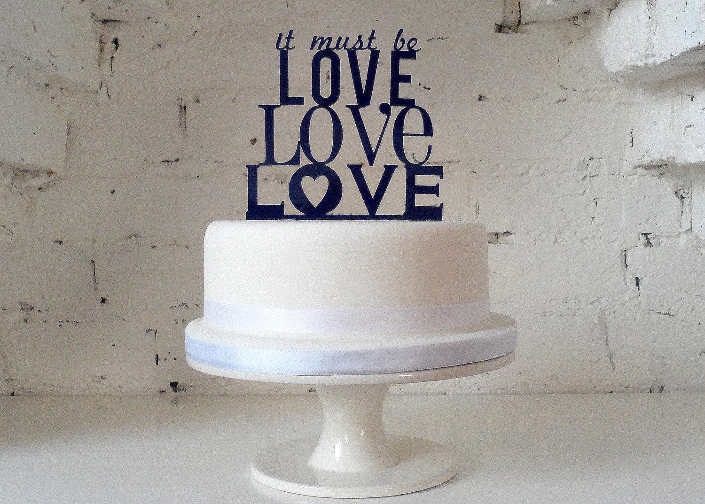 einhochzeitsblog cake topper acryl schrift typo 3
