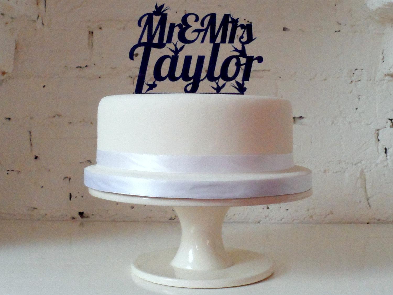 einhochzeitsblog cake topper acryl schrift typo 5