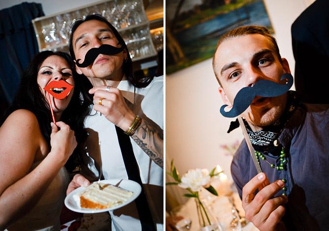 Photobooth-Essential: Schnurrbart am Stiel. - Hochzeitsblog marryMAG ...