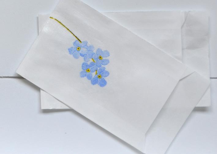 einhochzeitsblog DIY Tischkarten Namenskarten Blumen 5