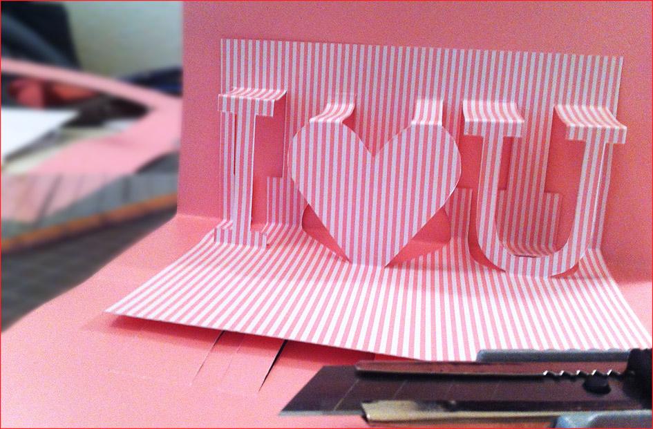 Tag der liebe heute echt hochzeitsblog marrymag der hochzeitsblog - Geburtstagskarte basteln pop up ...