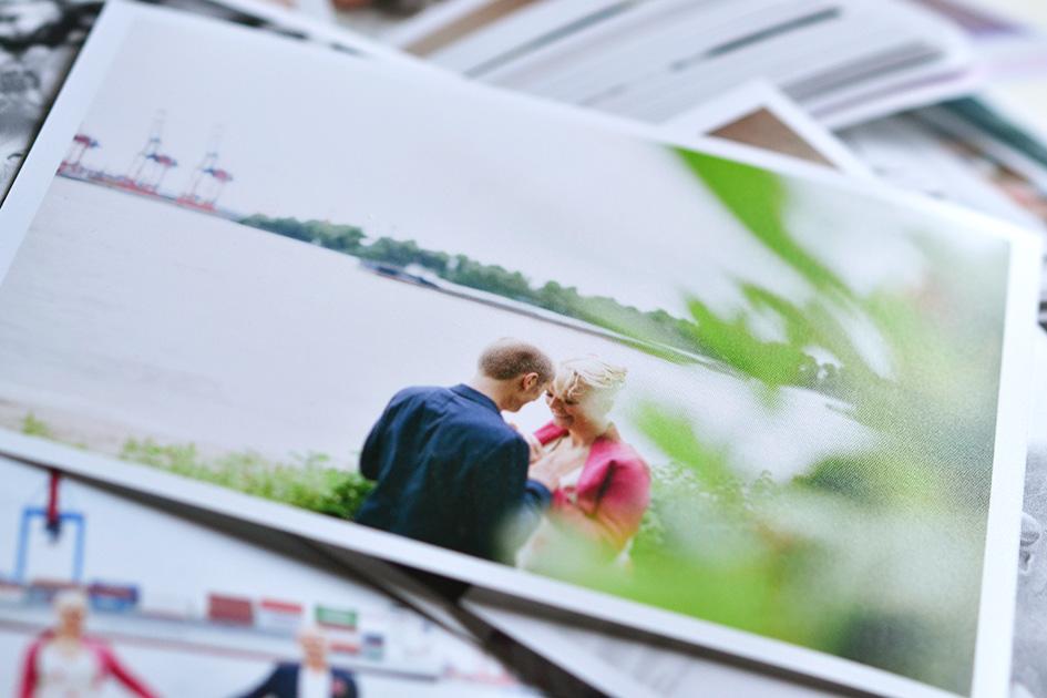 Gedruckte Hochzeitsfotos auf richtig schönem Papier!