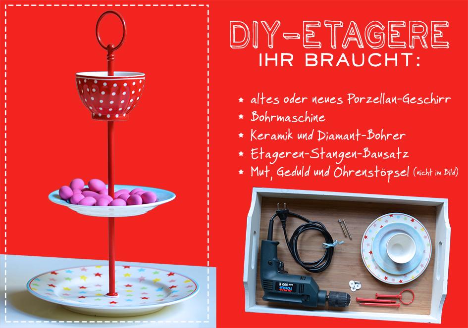 DIY auf einhochzeitsblog.com: Etageren