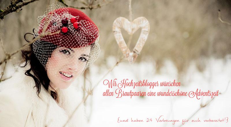 große Adventskalender-Aktion der deutschen Hochzeitsblogger