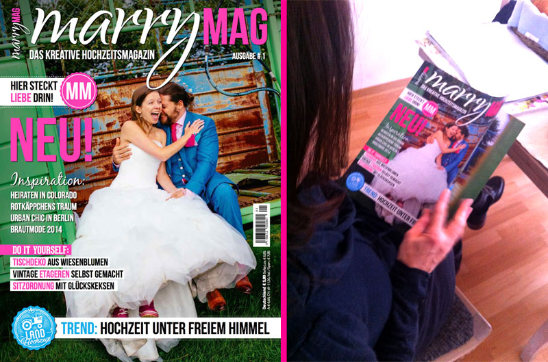New weddingmagazin in Germany launched!