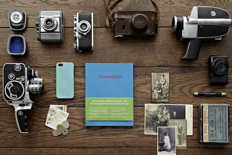 einhochzeitsblog stammbuch blau