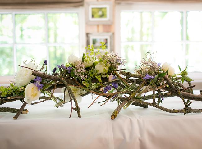 Blumen Deko natürliche blumendeko hochzeitsblog marrymag der hochzeitsblog