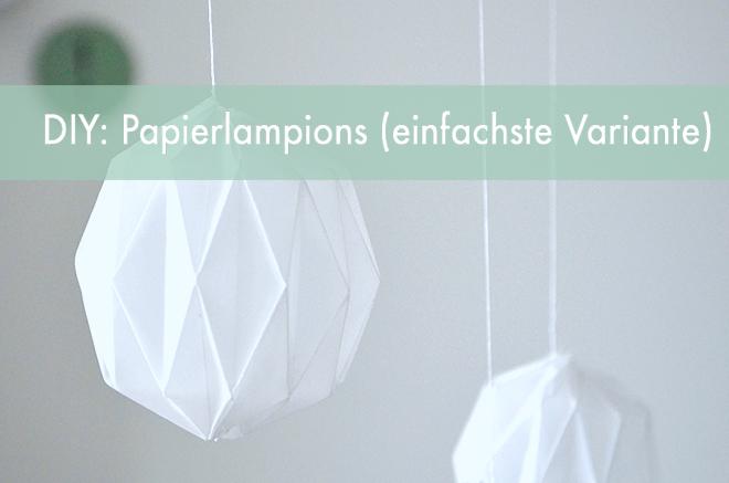 Diy Tutorial Origami Lampions