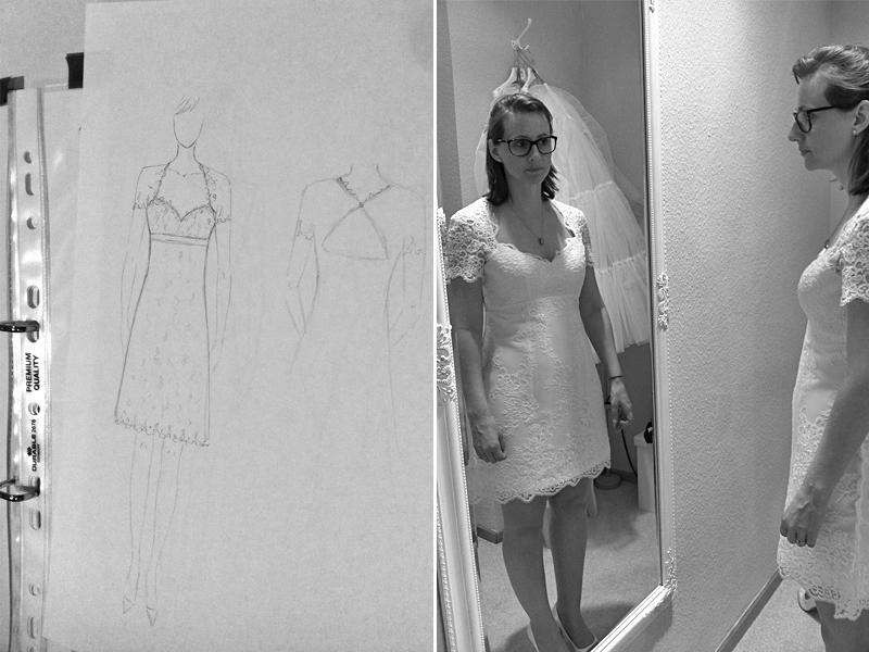 Maßschneider Brautkleid