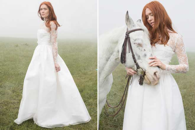 Brautkleid-Inspiration: Elfenkleid  Hochzeitsblog marryMAG Der ...