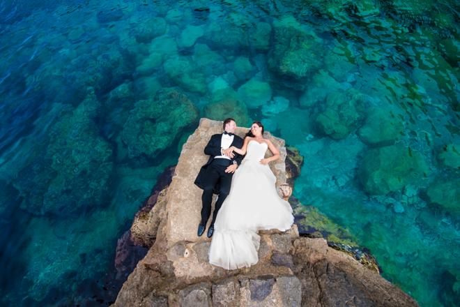 after wedding shooting hochzeitsbilder im urlaub