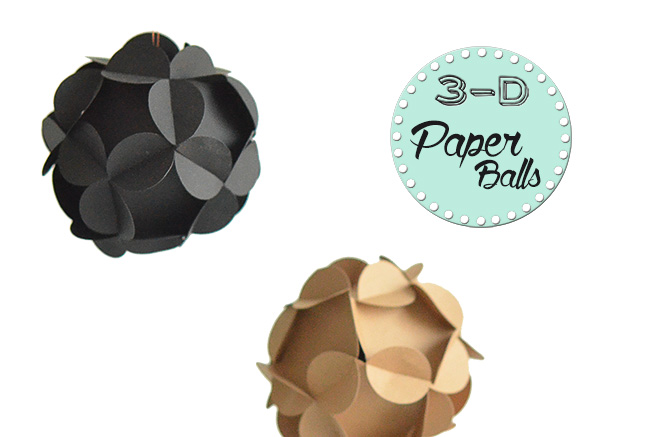 3-D Paperball