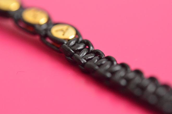 DIY Makramee Armband 10
