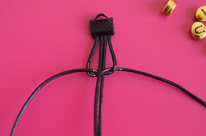 DIY Makramee Armband 3