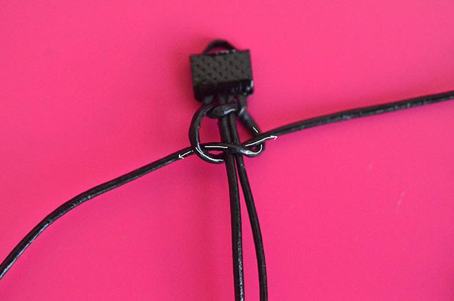 DIY Makramee Armband 4