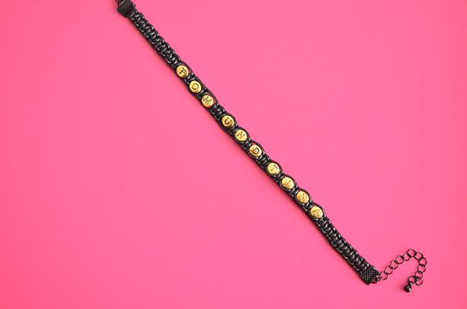 DIY Makramee Armband 9