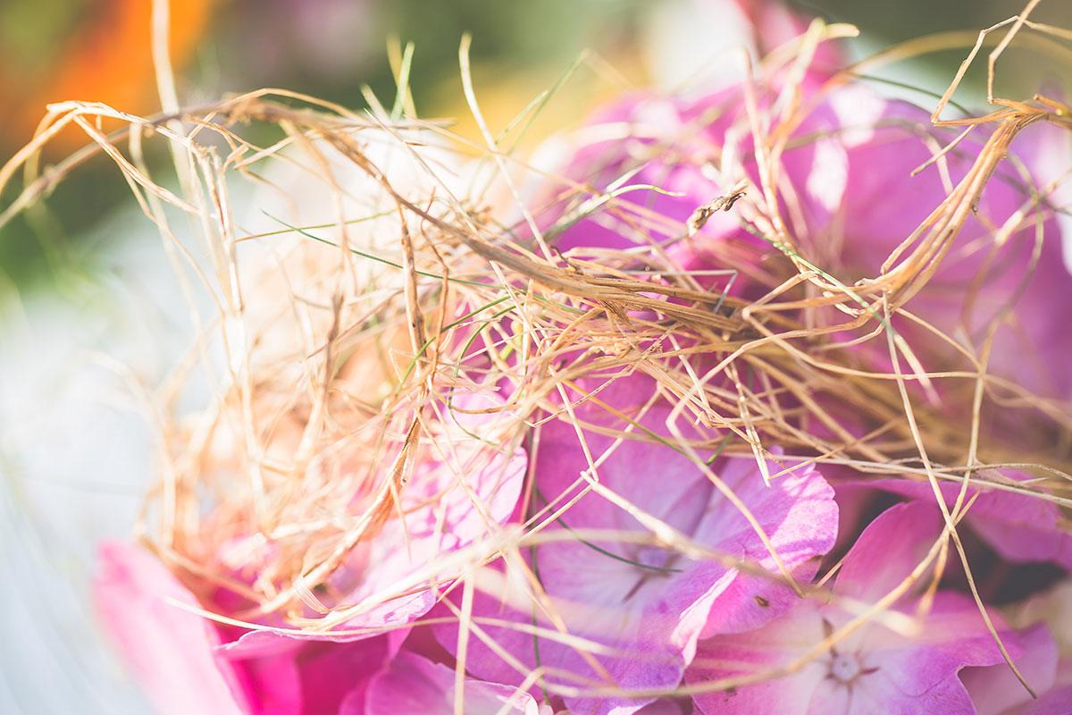 bunte Boho-Hochzeit