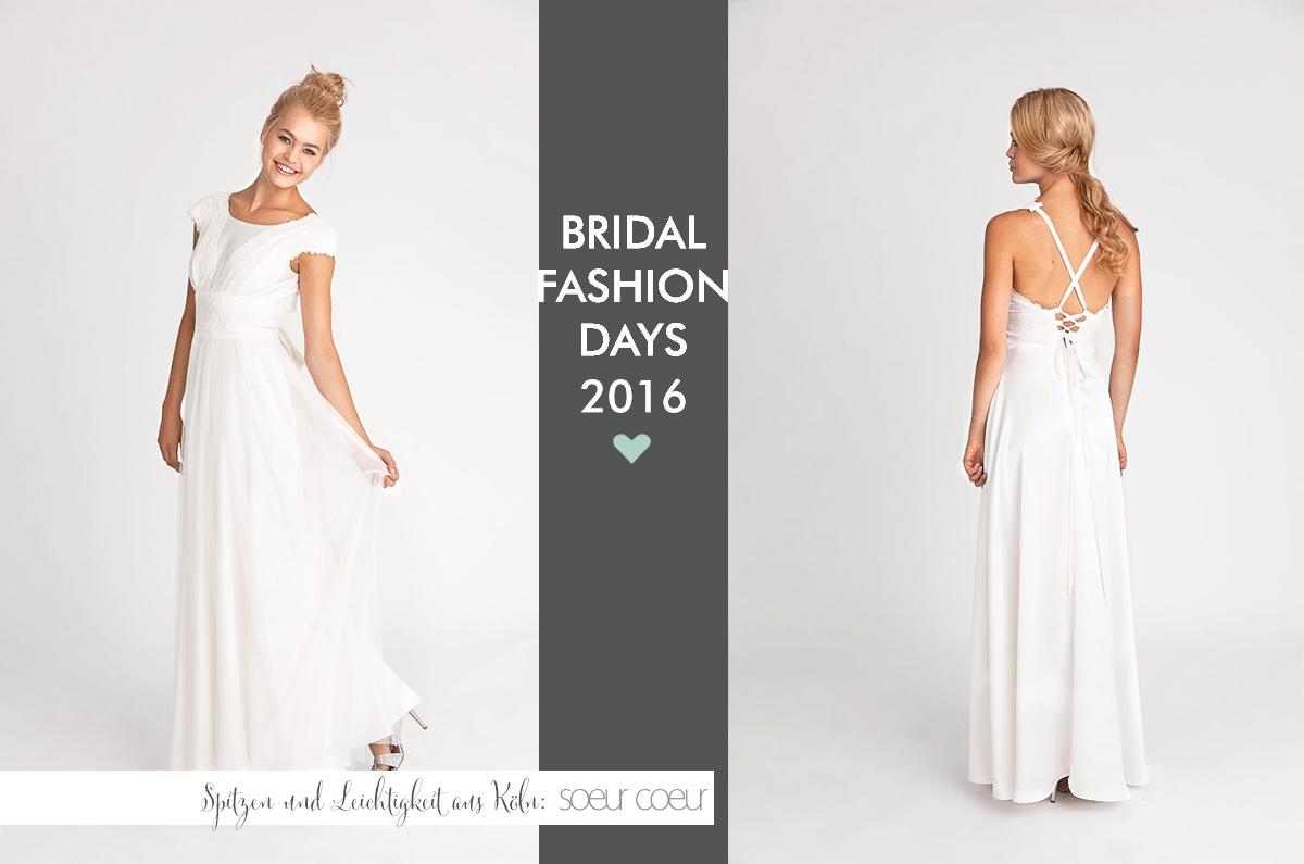 Hochzeitskleider von Soeur Coeur: Kollektion 2016 {Bridal Fashion Days ...