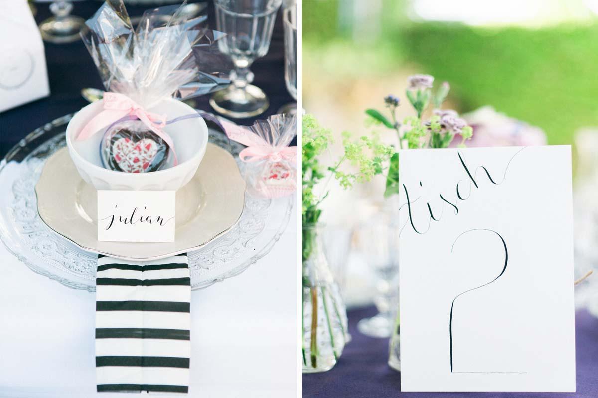 Handlettering Kalligraphie für Eure Hochzeit