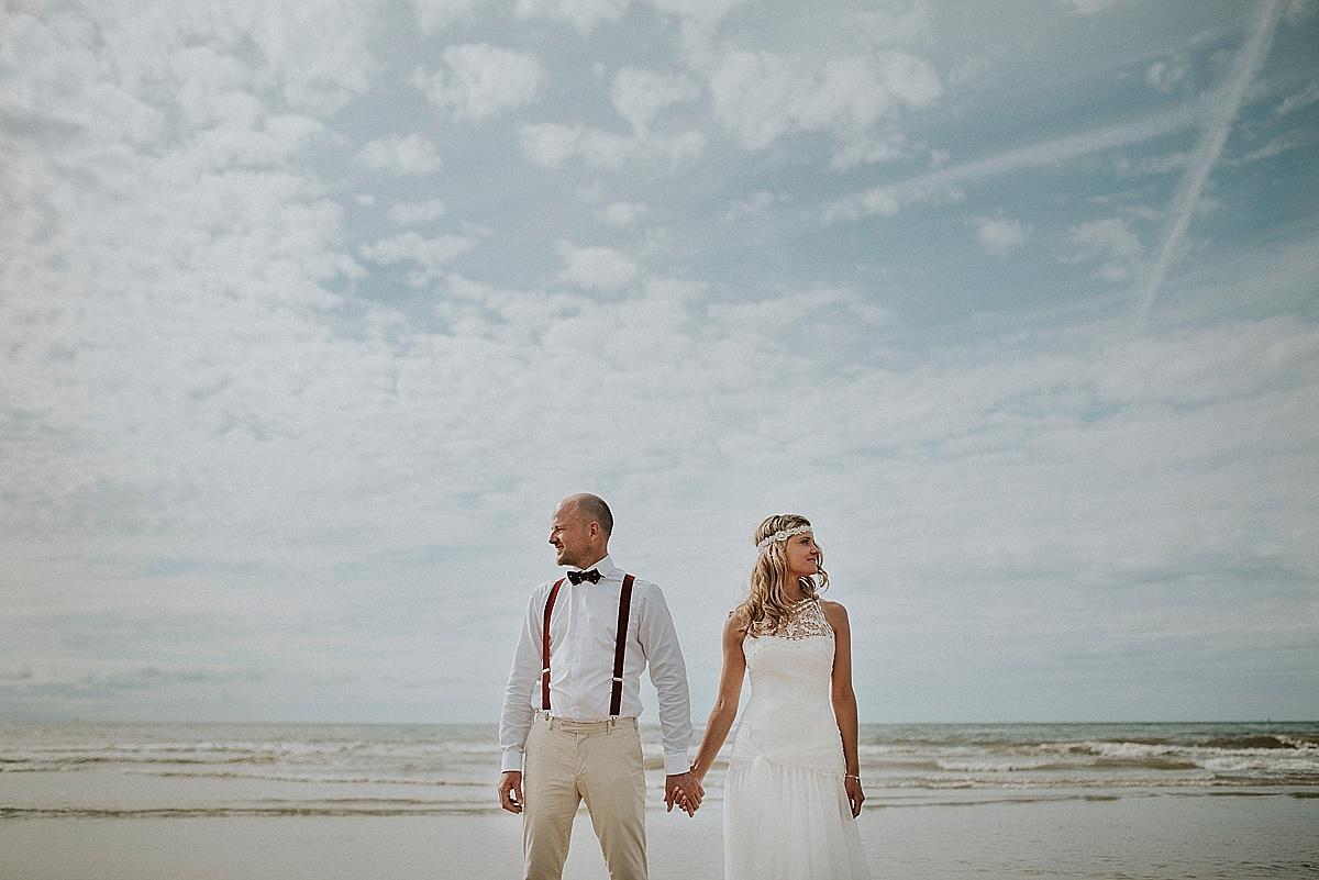 Marrymag Freie Trauung Am Strand Hochzeit In Nordwijk