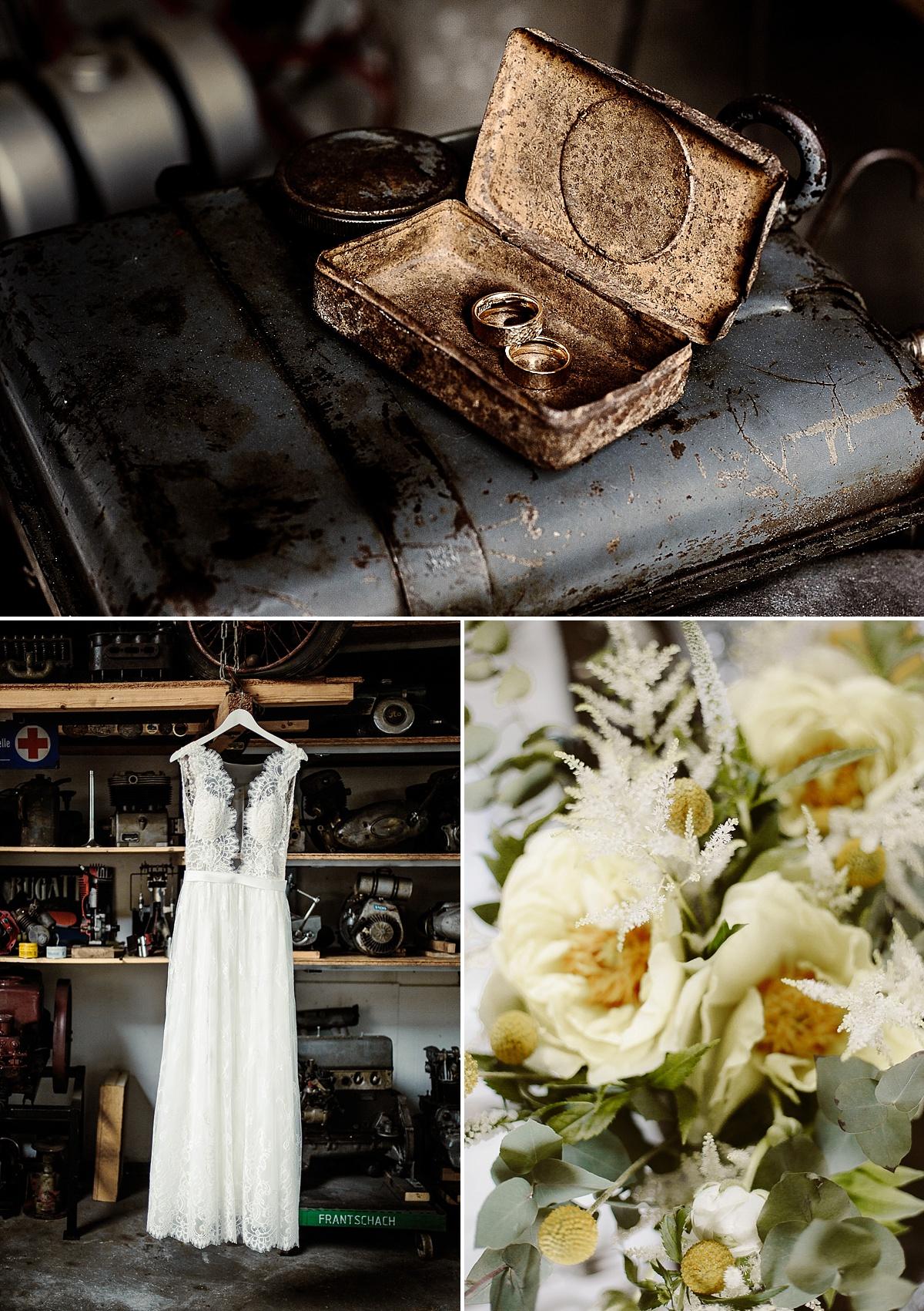 Marrymag Rockerhochzeit Industrial Retro Hochzeit Mit Gin Tonic Bar