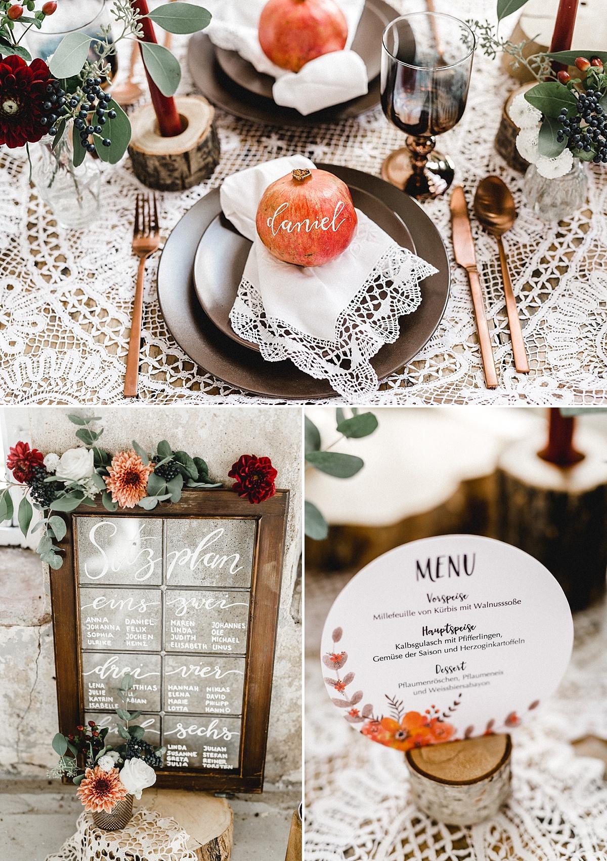 Marrymag Modern Vintage Herbsthochzeit In Der Orangerie