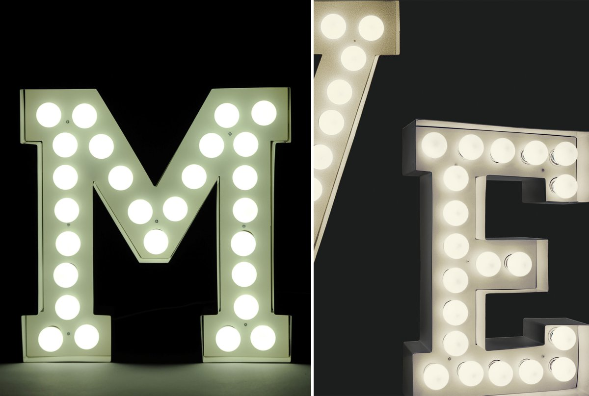 leuchtbuchstaben hochzeitsblog marrymag der hochzeitsblog. Black Bedroom Furniture Sets. Home Design Ideas