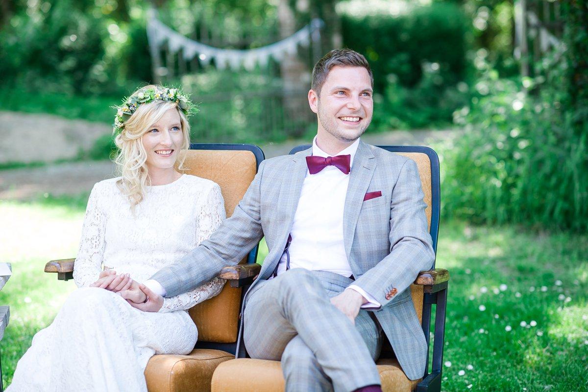 marryMAG: Eine Gartenhochzeit im Boho Stil - Jenny & Stefan