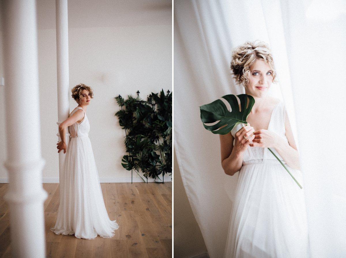 marryMAG: Brautstyling für kurze Haare - elegant & lässig