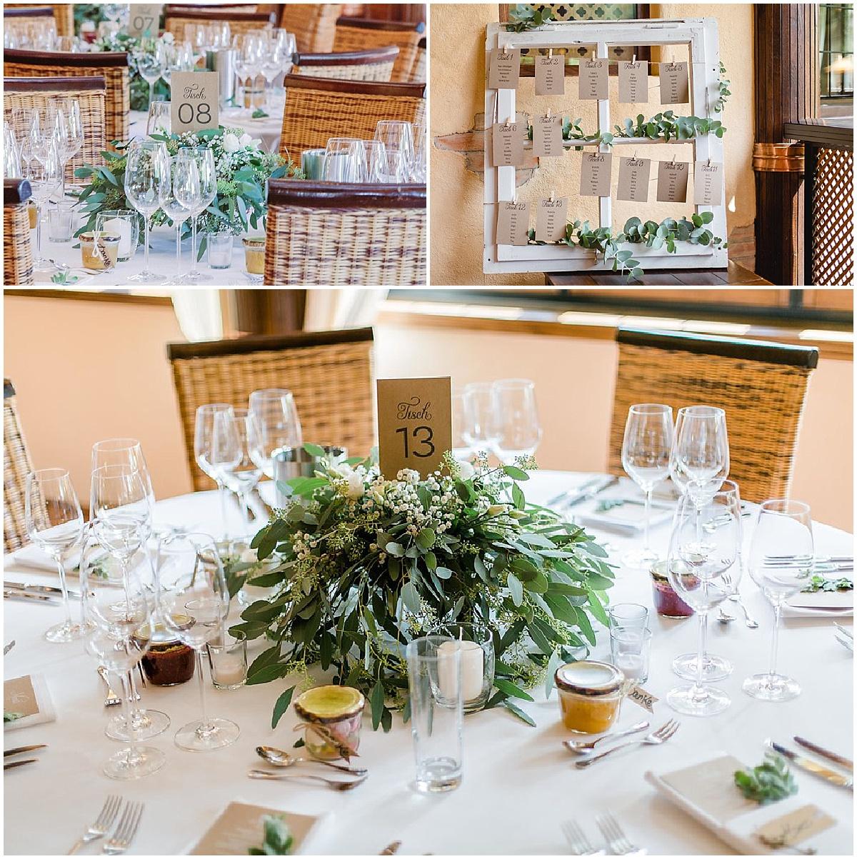 Mediterrane hochzeit im greenery style hochzeitsblog - Tischdeko brautpaar ...