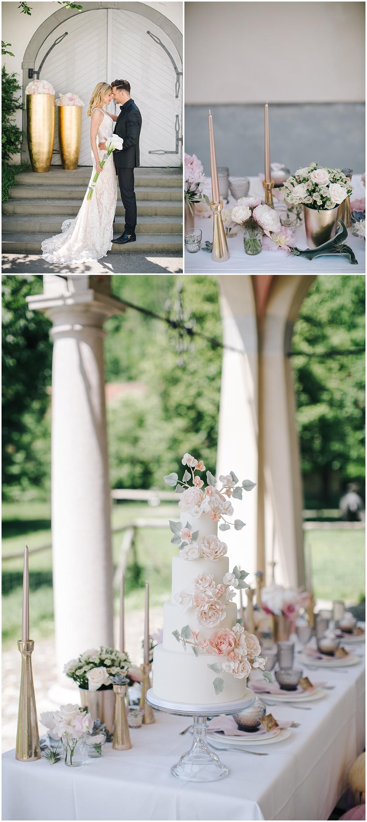 Hochzeitstorte Deluxe Goldener Fruhling Marrymag Hochzeitsblog
