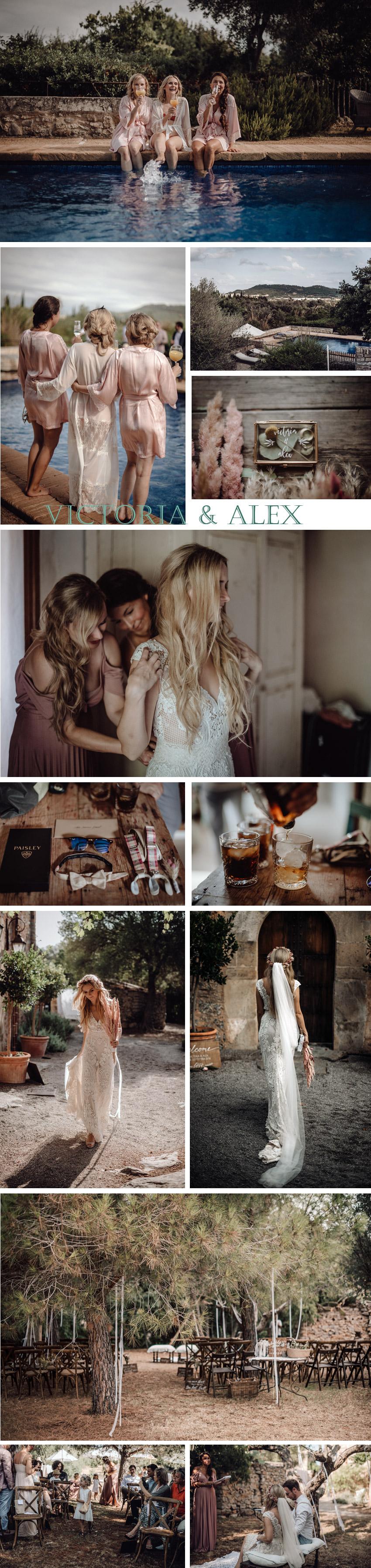 Hochzeit auf Mallorca: Retting Ready