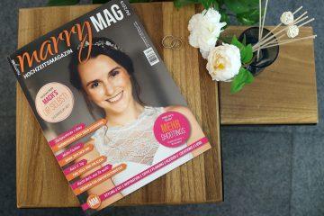 Die neue marryMAG ist da! Brautmode 2020, DIY und vieles mehr!