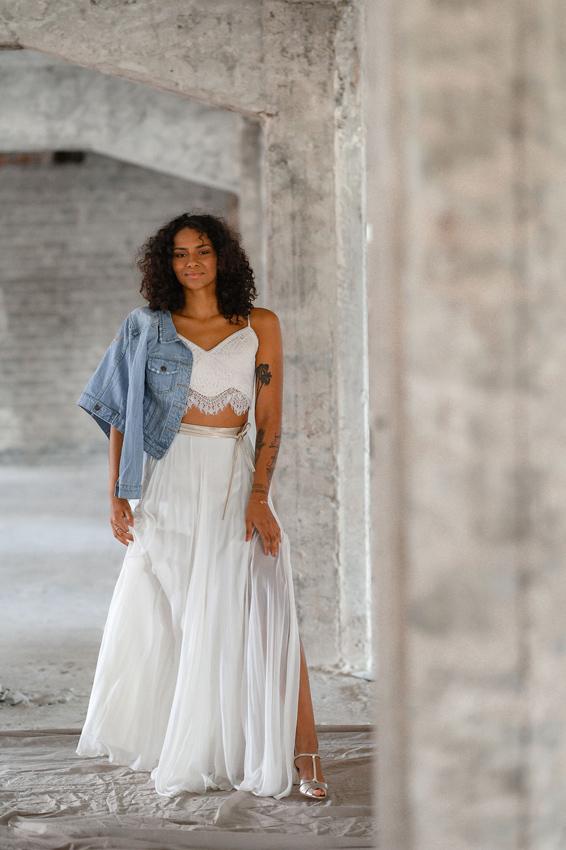 Die neue marryMAG mit Zweiteiler Brautkleidern.