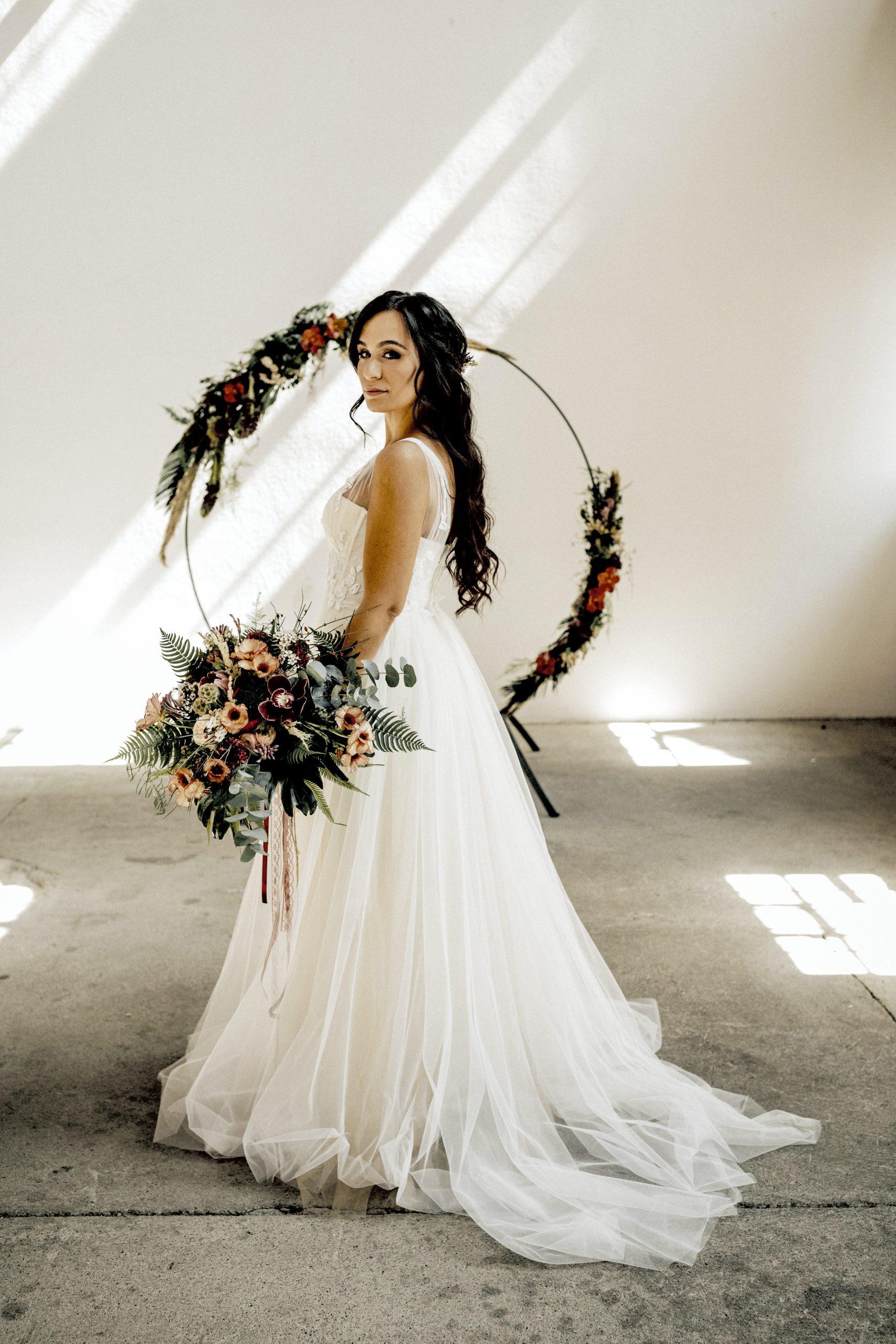 Brautstyling für Eure exotische Hochzeitsinspiration